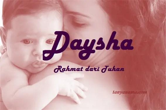 arti nama Daysha