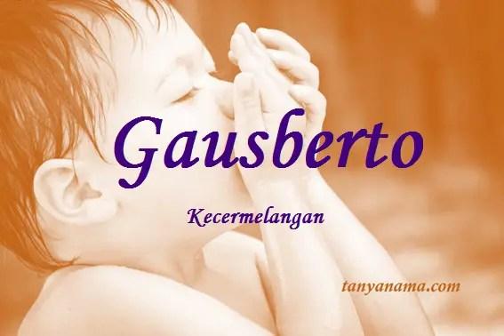 arti nama Gausberto