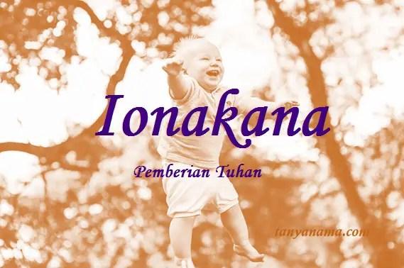 arti nama Ionakana