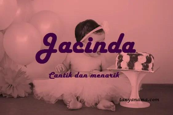 arti nama Jacinda