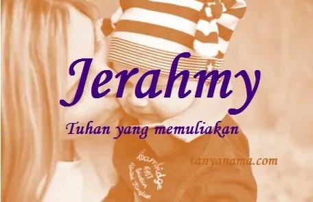 arti nama Jerahmy
