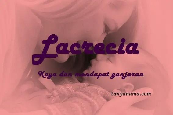 arti nama Lacrecia