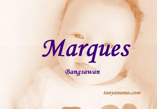 arti nama Marques