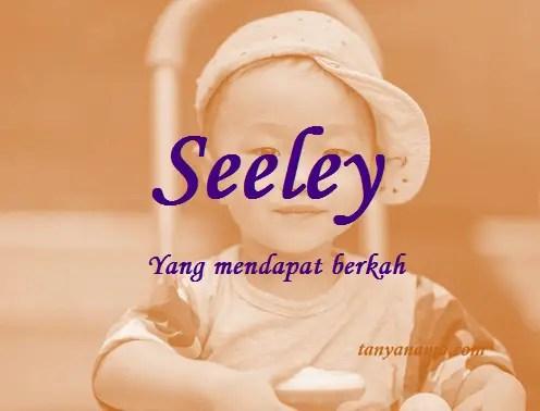 arti nama Seeley