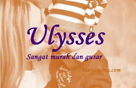 arti nama Ulysses