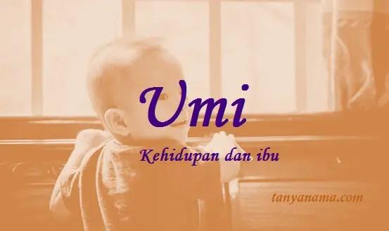 arti nama Umi