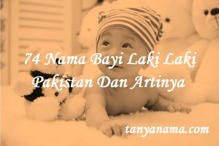 Nama Bayi Laki Laki Pakistan Dan Artinya