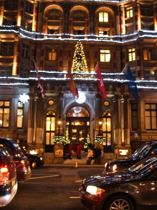 A Knightsbridge Hotel, opposite Harvey Nichols.