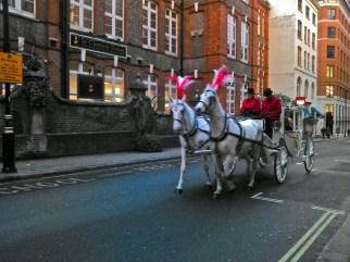 On Drury Lane, heading North.