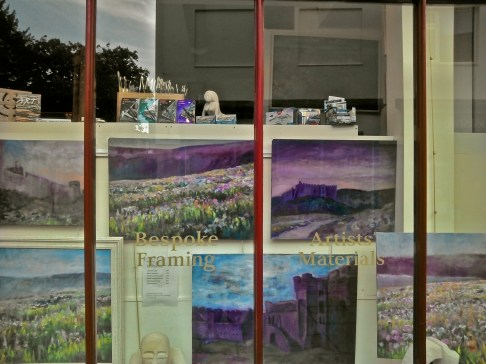 Art supplies and picture framers on Corsham High St.