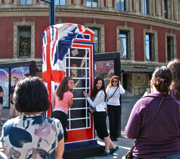 Ring a Royal Phone box by Timmy Mallet.
