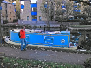 Is this the smallest barge ever built?