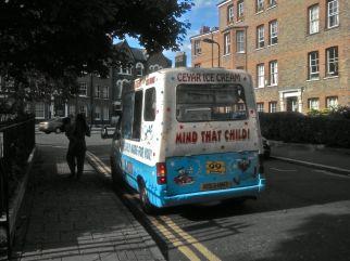 Turkish ice cream van
