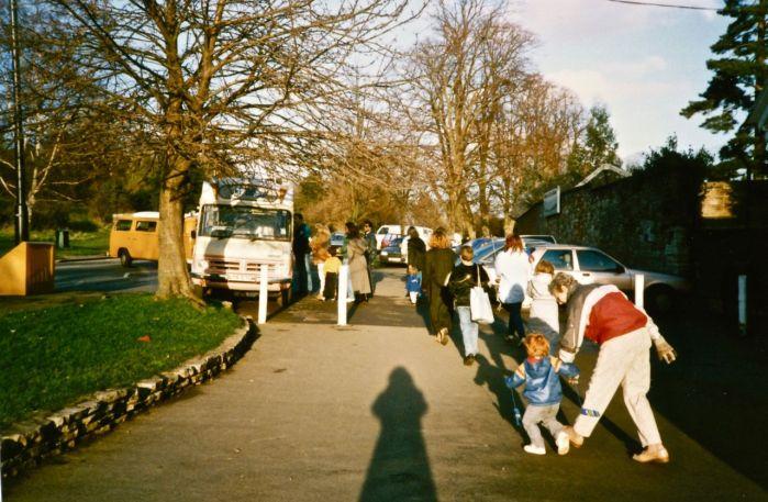 Outside Bristol Zoo 1980s