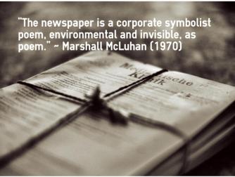 Newspaper Aura
