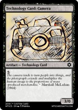 Technology Card_ Camera