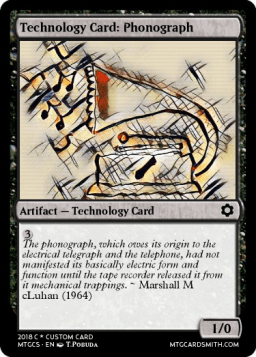 Technology Card_ Phonograph
