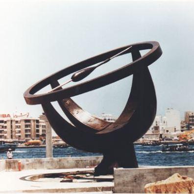 Dubbai sundial