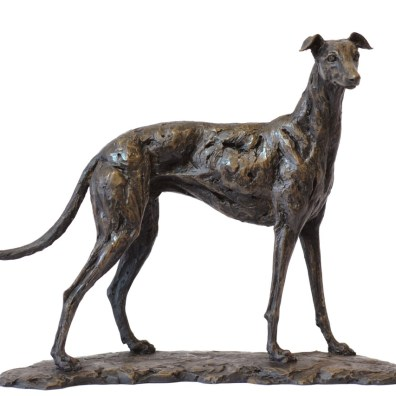 Greyhound - Tanya Russell Dog Sculpture