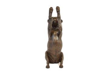 Reaching Staffordshire Bull Terrier Sculpture 8 - Tanya Russell Dog Sculpture