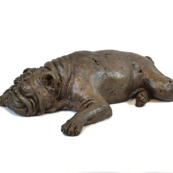 Bulldog Sculpture 2 - Tanya Russell Dog Sculpture