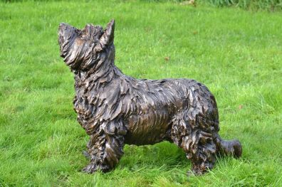 Yorkshire Terrier, Charlie 2 - Tanya Russell Sculpture