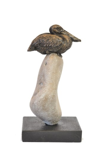 Pelican Sculpture - Tanya Russell Animal Sculpture