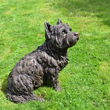 West Highland Terrier sculpture, by Tanya Russell 4