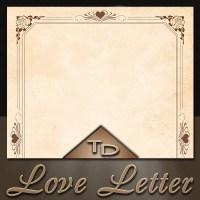 Love Letter Paper A4