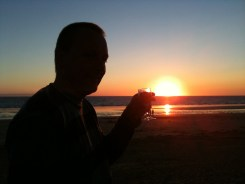 Sunset in Vendee