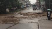 Road submerged