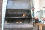 Barbecued meat - we had the goat ribs - very tasty
