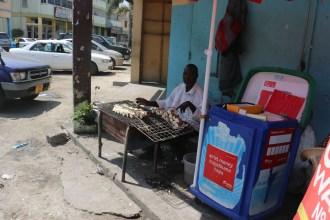 Barbecued Cassava