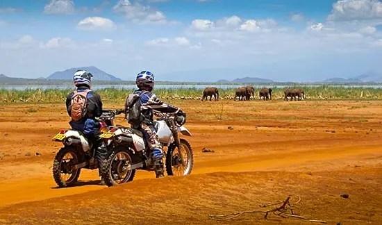 Voyage Tanzanie. Randonnées et safari en moto en Tanzanie. Rando moto safari tanzanie