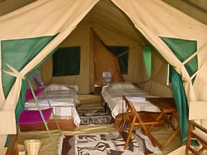 Tented Camp en Tanzanie