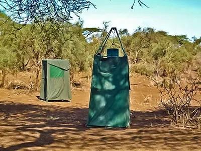 WC et Douche en camping