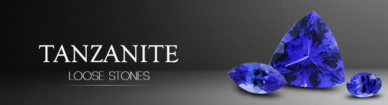 Oval Shape Blue Tanzanite Loose Stone