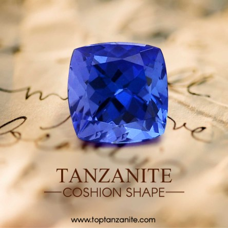 cushion-cut-tanzanite