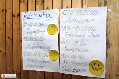 Tanzgarde Wasungen Jugendschautanz 2014