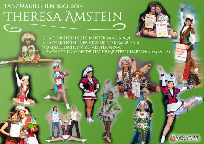 Tanzgarde Wasungen Abschied Theresa Amstein