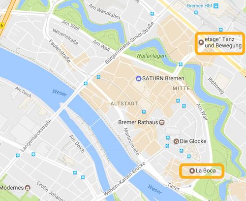 Tanzkurs Bremen Mitte