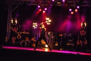 Feuershow Nocturne * Foto: Meike Dietz