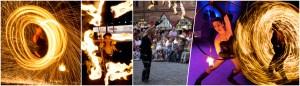 Feuershow Collage