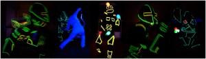 Lichtshow Lichtkostüm LUXOID