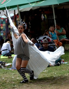 Frollein Ringelreih' * Walk Act Character * Starkenburgfestival Heppenheim