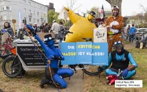 Das E-Team als Live-Attraktion bei der Critical Mass in Frankfurt, mit freundl. Genehmigung des Energiereferats der Stadt Frankfurt