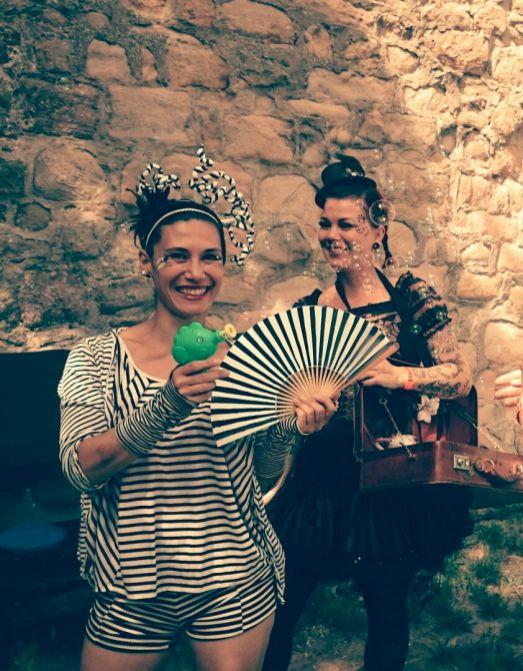 Frollein Ringelreih' & Miss B * Walk Act Character * Starkenburgfestival Heppenheim