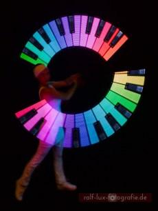 Visual Poi für Lichtshow * Ihre Wunschgrafik, Logo, Name oder Bild in eindrucksvolen Farben