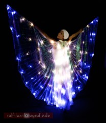 LED-Isis-Wings für Lichtshow oder Licht-Walking Act
