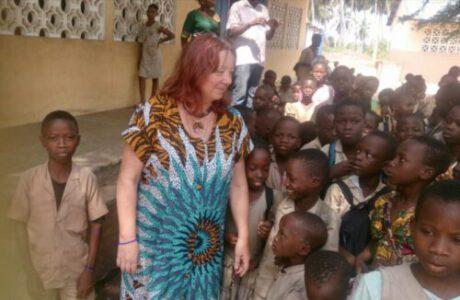 Heidi in Benin
